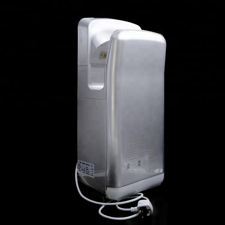 बाथरूम लागि स्वचालित जेट विद्युत Brushless हात ड्रायर