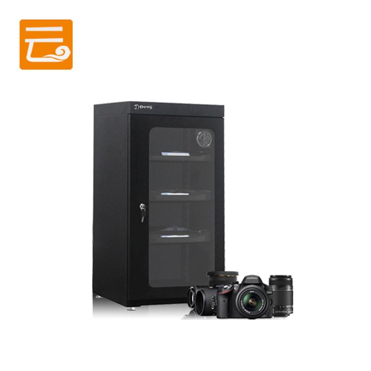 Кантроль вільготнасці Фота абсталявання шафа для аб'ектыва камеры
